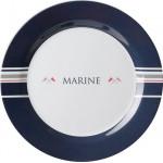 Lautanen, matala, ø 25cm, Marine